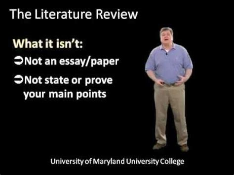 Health Library: Literature Review Writing: Read and